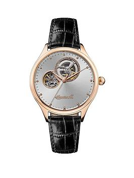 Ingersoll Ingersoll The Vamp Automatic I07001 Silver Sunray And Rose Gold  ... Picture