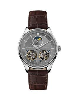 Ingersoll Ingersoll 1892 The Chord Silver Moon Phase Skeleton Eye  ... Picture