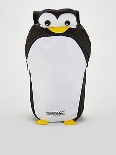 regatta-zephyr-animal-penguin-backpack-black