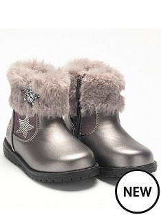lelli-kelly-barbara-star-boot-pewter