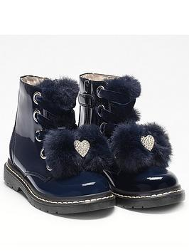 lelli-kelly-fior-di-neve-fur-bow-ankle-boots-navy-patent