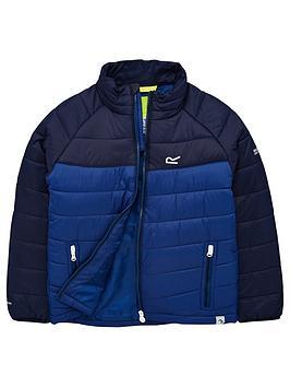 regatta-junior-freezeway-padded-jacket-blue