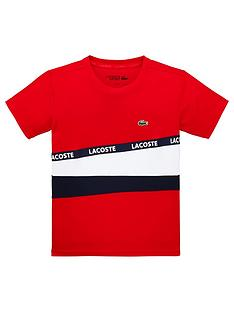 lacoste-sports-boys-short-sleeve-colourblock-t-shirt-red