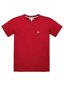 lacoste-boys-classic-short-sleeve-t-shirt-bordeaux