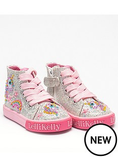 lelli-kelly-girls-abigail-baby-hi-top-plimsolls-silver-glitter