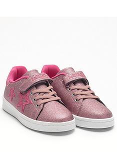 lelli-kelly-hermione-star-trainers-pink-metallic