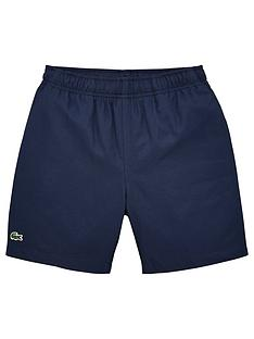 lacoste-sports-boys-classic-taffeta-shorts-navy
