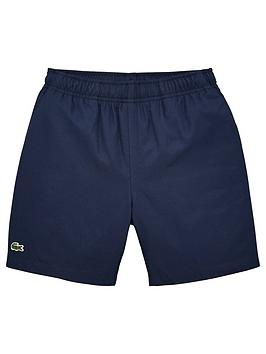 Lacoste Sports Lacoste Sports Boys Classic Taffeta Shorts - Navy Picture