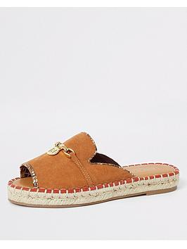 river-island-river-island-espadrille-peeptoe-sandals-tan