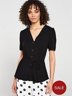 v-by-very-button-through-top-black