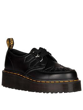 Dr Martens Dr Martens Sidney Flat Shoes - Black Picture