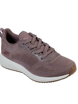 skechers-bobs-squad-glam-league-trainers-mauve