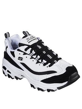 skechers-dlites-march-forward-trainers-whiteblack
