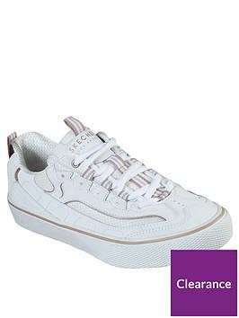 skechers-vlites-street-stance-plimsolls-white