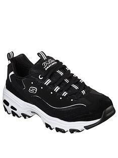 skechers-dlites-march-forward-trainers-blackwhite