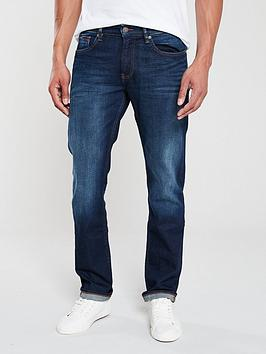 Tommy Jeans Tommy Jeans Ryan Straight Fit Comfort Jeans - Navy Picture
