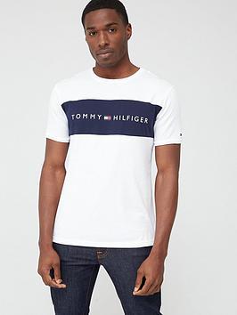 tommy-hilfiger-tommy-hilfiger-colour-block-flag-logo-short-sleeve-t-shirt-white