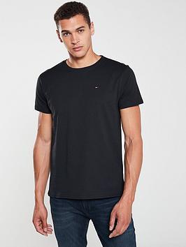 Tommy Jeans Tommy Jeans Original Flag Logo T-Shirt - Black Picture