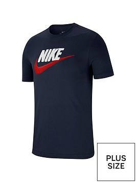 nike-sportswear-plus-size-futura-t-shirt-navy
