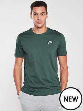 nike-sportswear-club-t-shirt-green