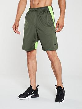 nike-dry-hybrid-training-shorts-khaki