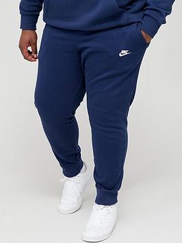 Nike Nike Sportswear Plus Size Club Fleece Joggers - Navy Picture
