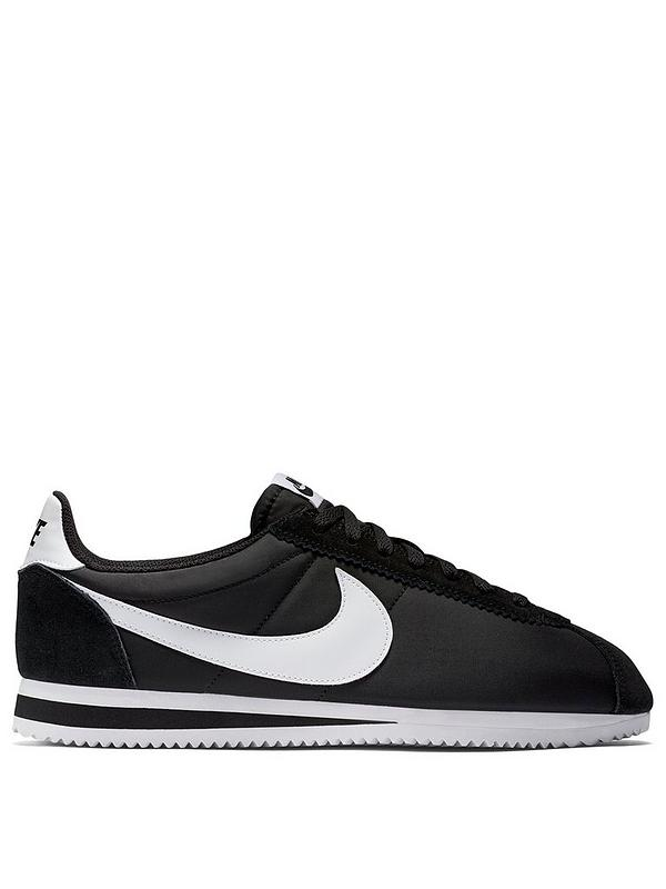 new cheap cheap for discount cost charm Cortez Basic Nylon - Black/White