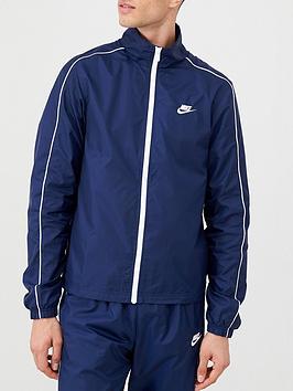 Nike Nike Sportswear Woven Tracksuit - Navy Picture