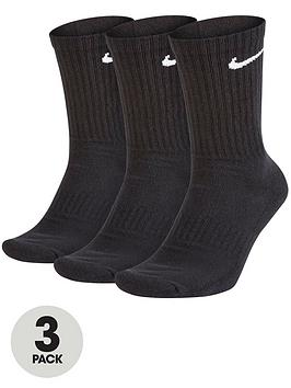Nike Nike Everyday Cushion Crew Socks (3 Pack) Picture