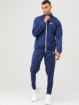Nike Nike Sportswear Polyknit Tracksuit - Navy Picture