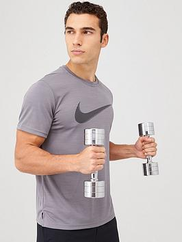 nike-superset-hbr-training-t-shirt-grey
