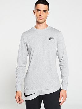 nike-sportswear-club-long-sleeve-t-shirt-grey