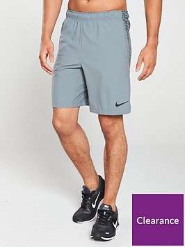 nike-flex-graphic-woven-training-shorts-grey