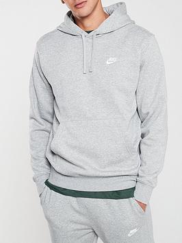 Nike Nike Sportswear Club Fleece Overhead Hoodie - Dark Grey Picture