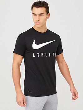 Nike Nike Dry Athlete Training T-Shirt - Black Picture