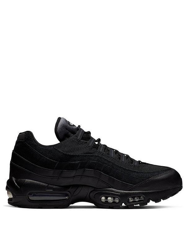 Impuro Relativamente Eslovenia  Nike Air Max 95 Essential - Black   littlewoods.com