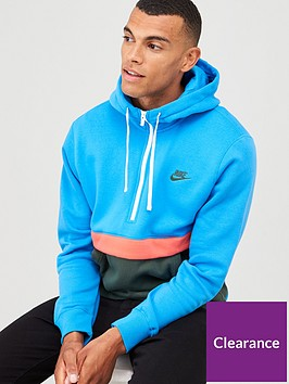 nike-sportswear-club-fleece-12-zip-hoodie-bluegreen