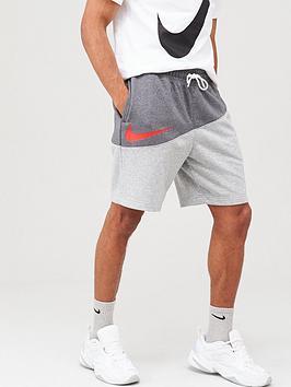 nike-sportswear-swoosh-colourblock-shorts-greydark-grey