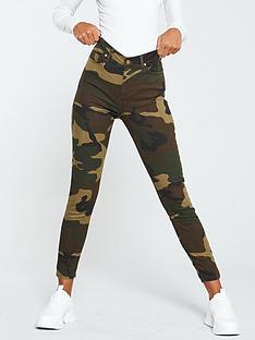 v-by-very-camo-print-overdye-skinny-jeans-khaki