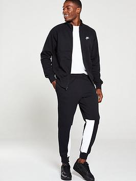 Nike Nike Sportswear Fleece Tracksuit - Black Picture