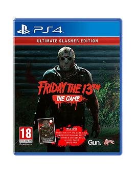 Playstation 4 Playstation 4 Friday The 13Th: Ultimate Slasher Edition - Ps4 Picture