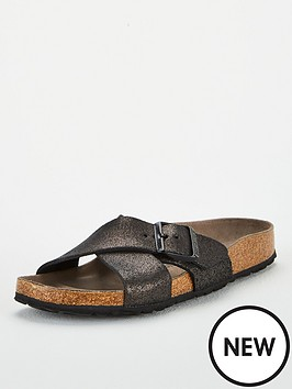 birkenstock-sienanbspflat-sandals--nbspwashed-metallicnbspantique-black