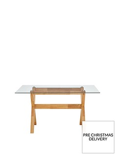 new-venla-150-cm-solid-wood-and-glass-dining-table