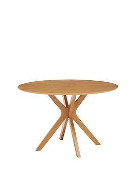 Very New Starburst 120 Cm Round Dining Table Picture