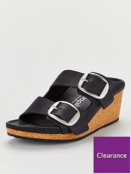 birkenstock-nora-big-buckle-wedge-sandals-black