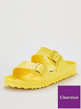birkenstock-arizona-eva-narrow-flat-sandals-yellow