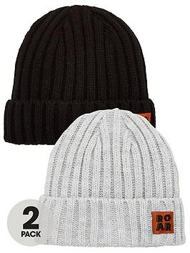 V by Very V By Very 2Pk Beanie Hats Picture