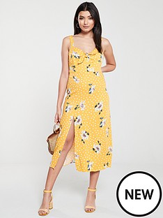 oasis-spot-ruby-cut-out-tie-front-midi