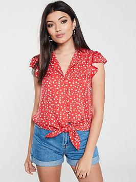 oasis-ditsy-daisy-shirt-red