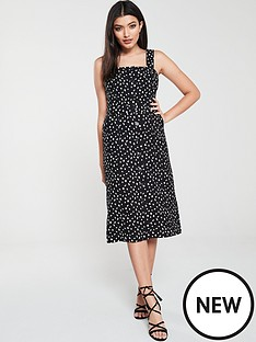 oasis-oasis-belted-midi-pencil-dress-shattered-heart-print